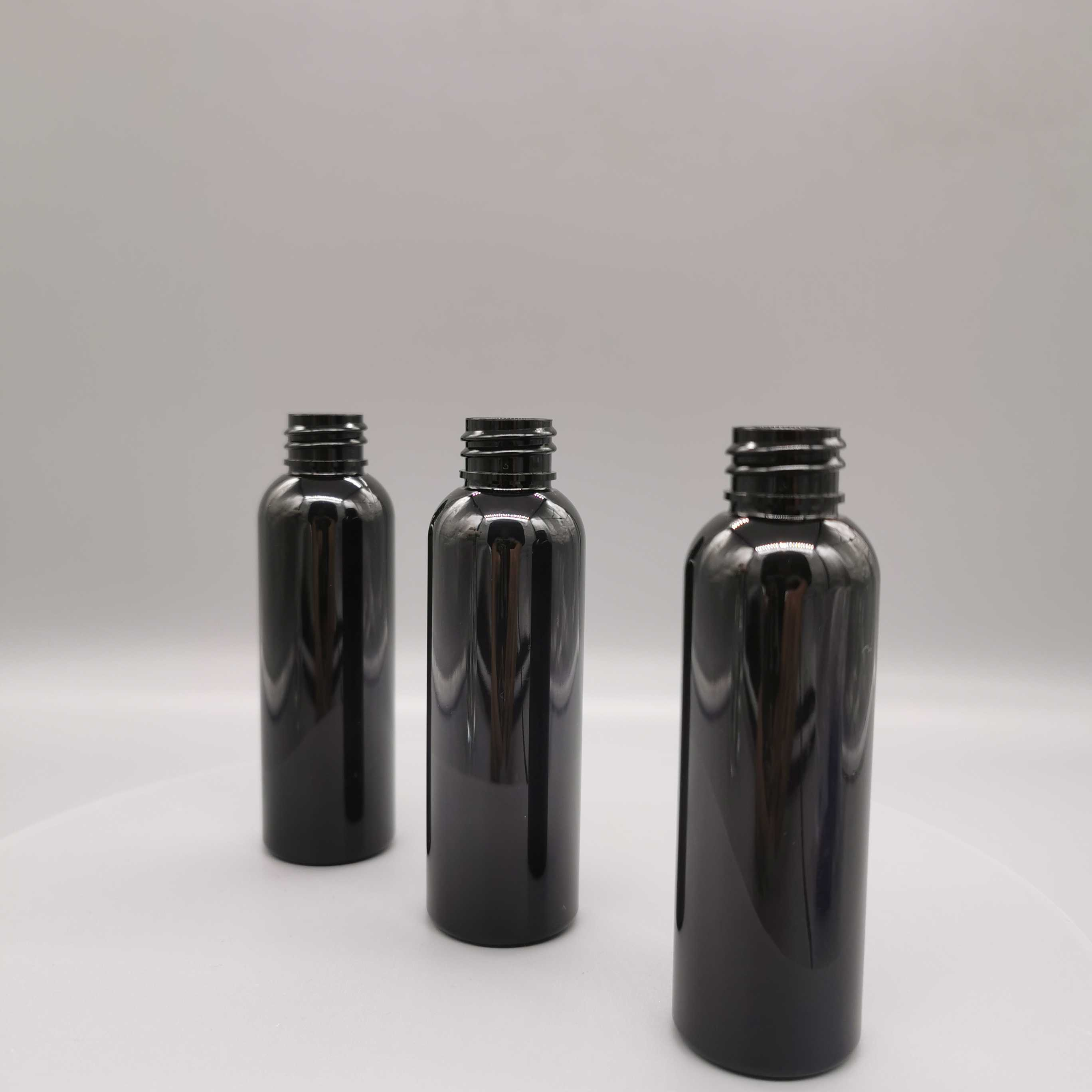 2 oz black bullet bottle