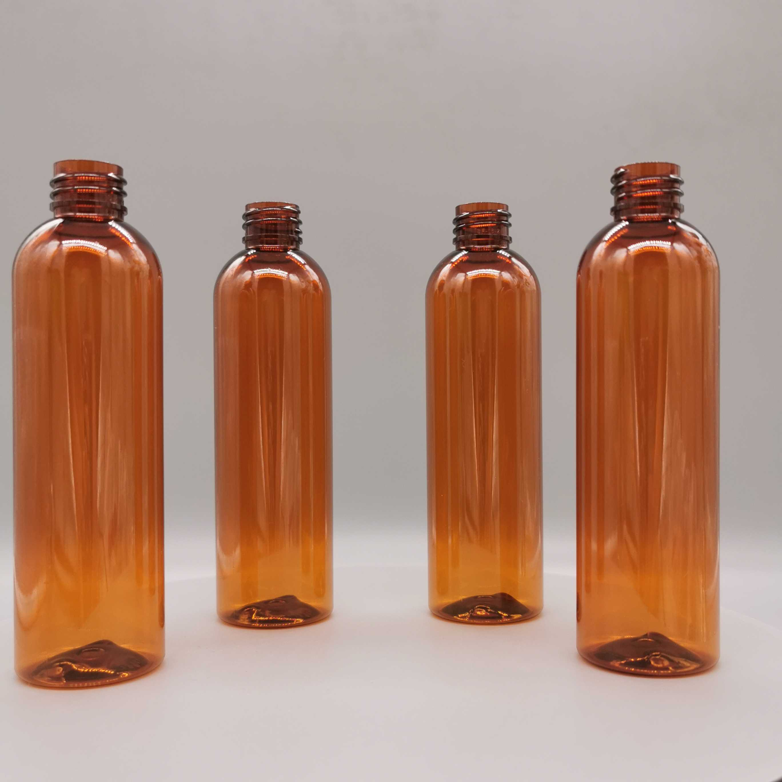 6 oz brown bubllet bottle