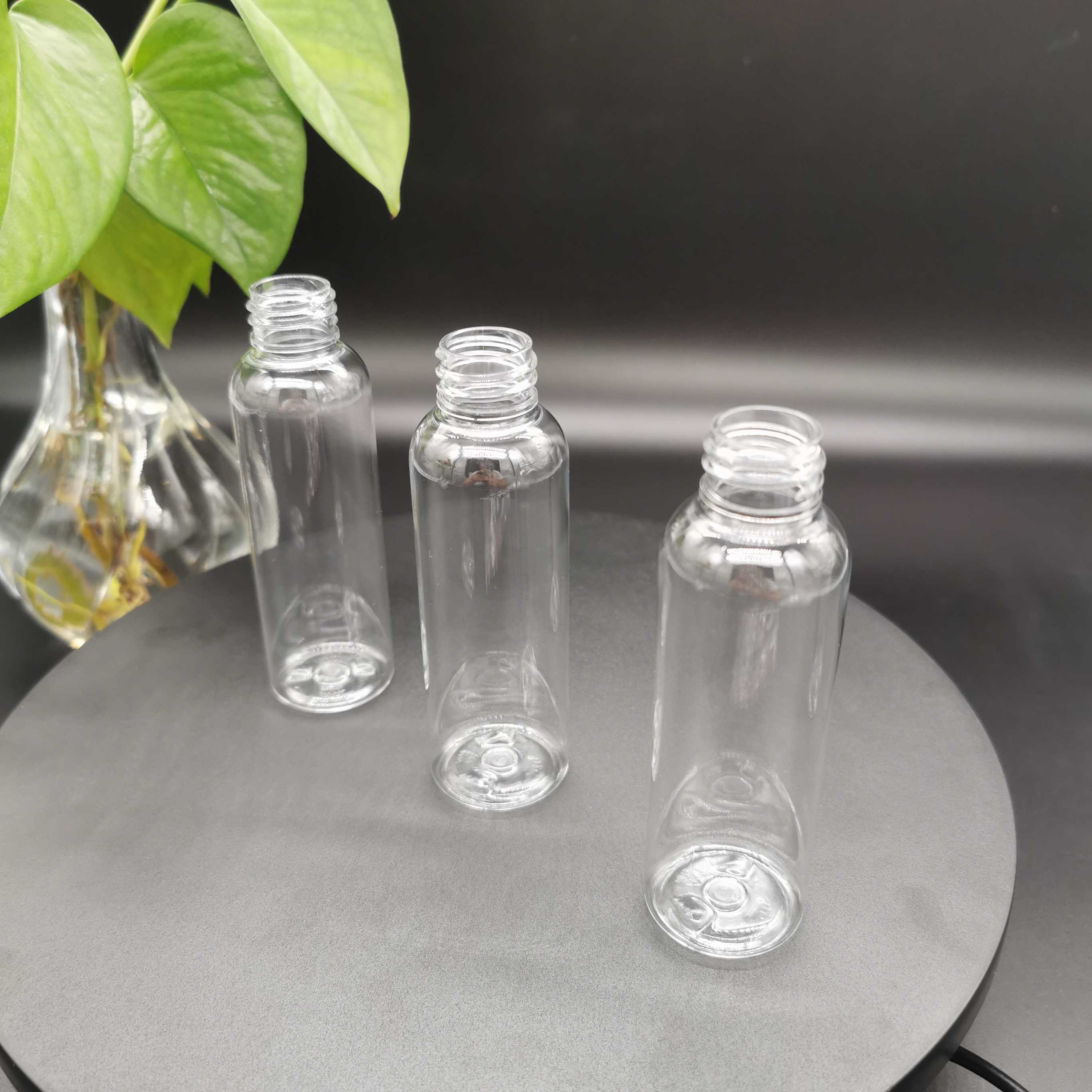 60ml clear bullet bottle